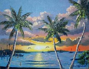 Florida Highwaymen exhibit show March 22, 2008 Baby Boomer Antiques and Collectibles Show St. Petersburg Coliseum