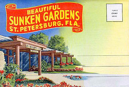 Florida Antique Show at St. Petersburg Sunken Gardens